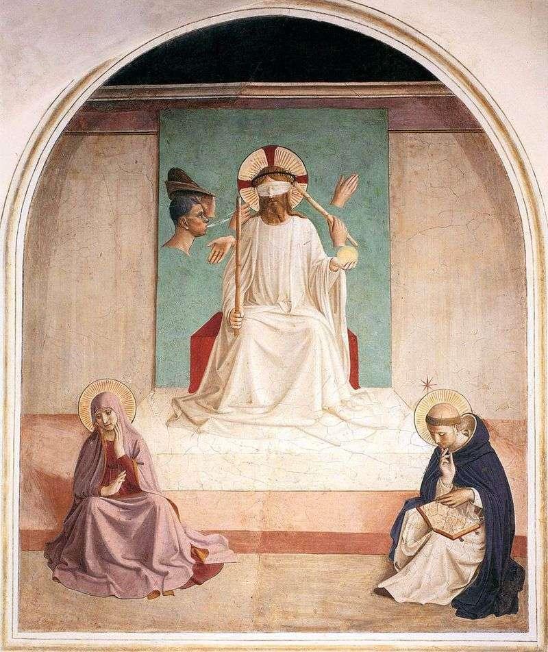 Szyderstwo Chrystusa   Angelico Fra