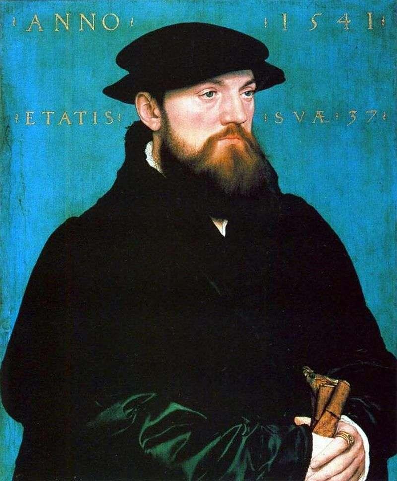 Portret Bos van Stenwijk   Hans Holbein