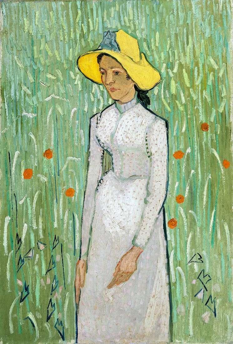 Dziewczyna w bieli   Vincent Van Gogh