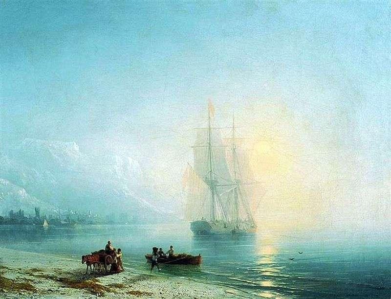 Spokojne morze   Iwan Ajwazowski