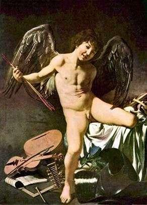 Zwycięzca Amorka   Michelangelo Merisi da Caravaggio