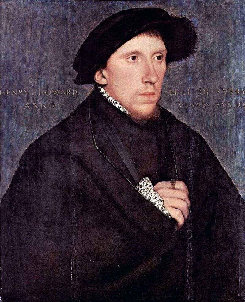 Portret Henryego Howarda   Hansa Holbeina