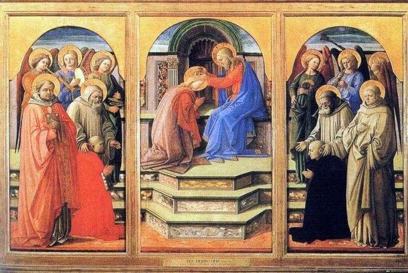 Koronacja Maryi   od Filippo Lippi