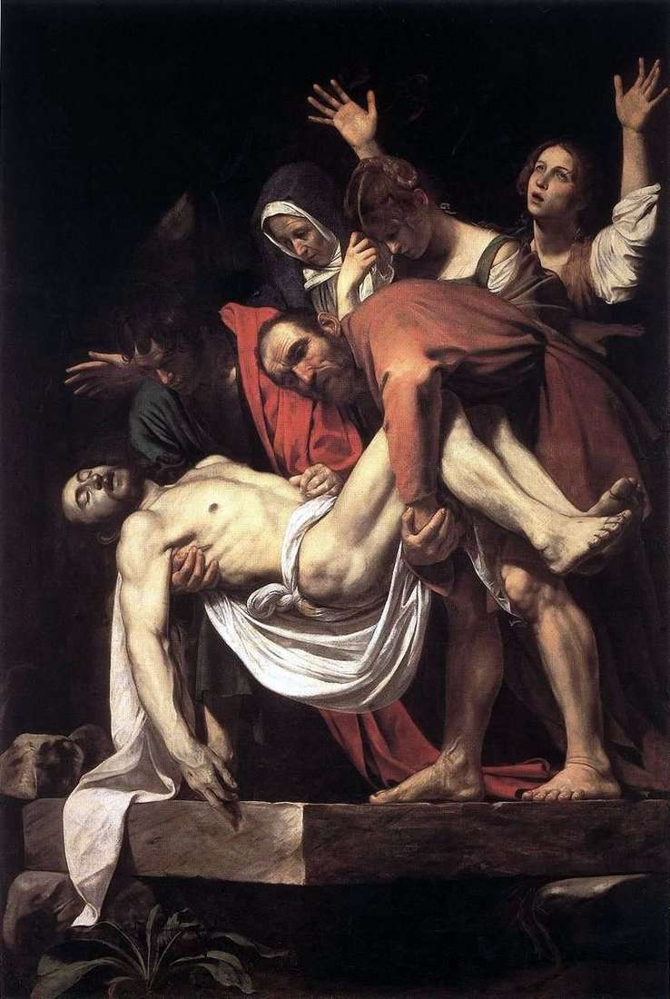 Nagrobek autorstwa Michała Anioła Merisi da Caravaggio