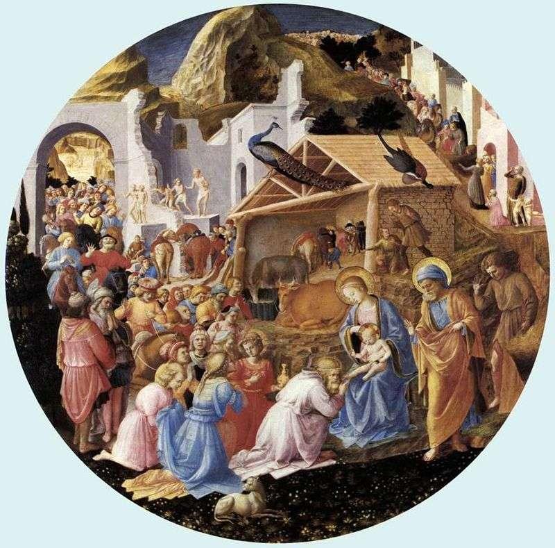 Adoracja Trzech Króli   Angelico Fra