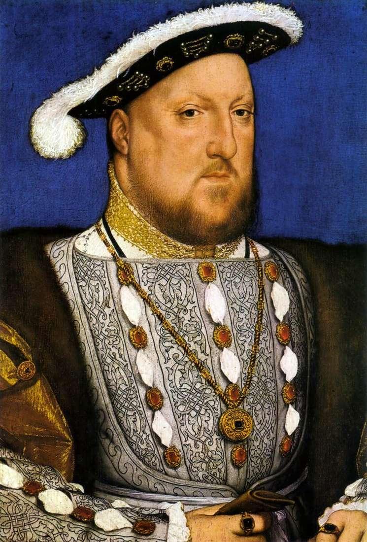 Portret Henryka VIII   Hansa Holbeina