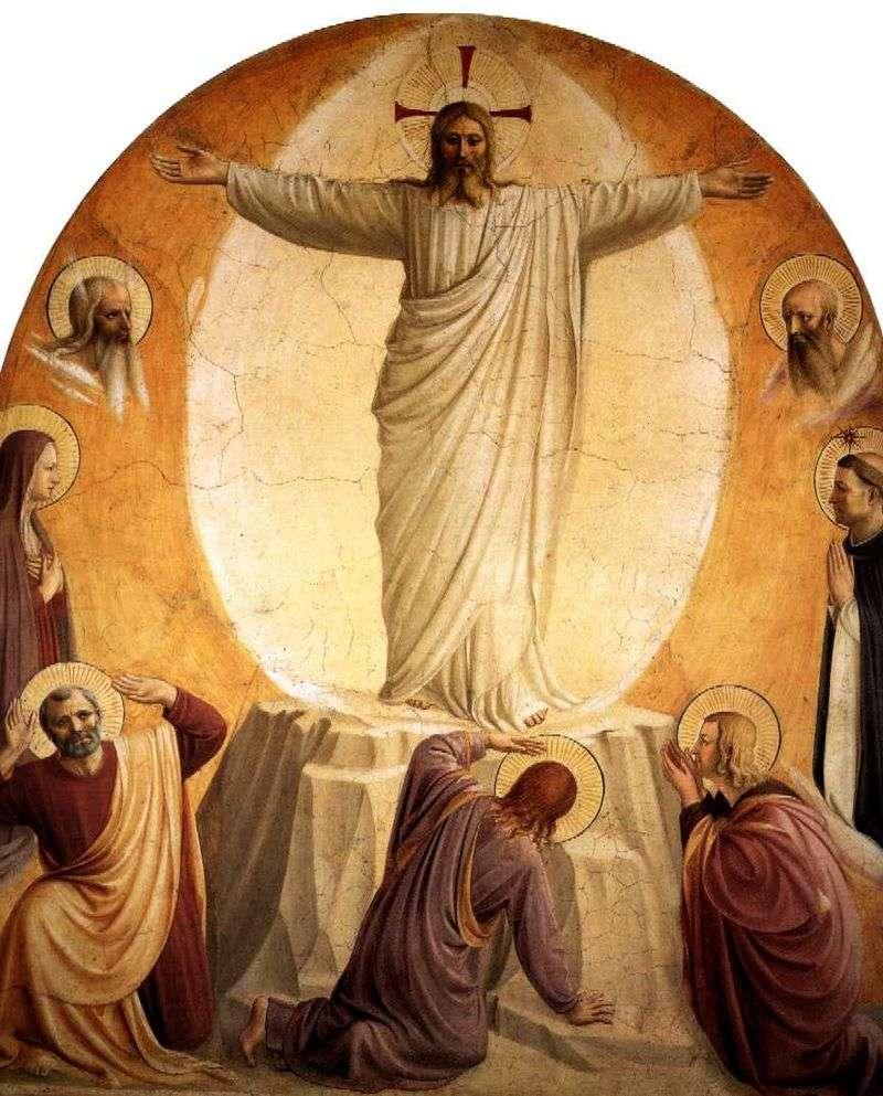 Przemienienie Pańskie   Angelico Fra