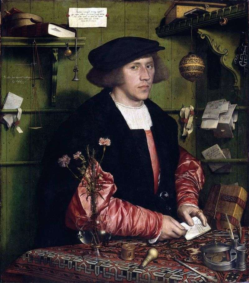 Portret Georga Guissé   Hansa Holbeina