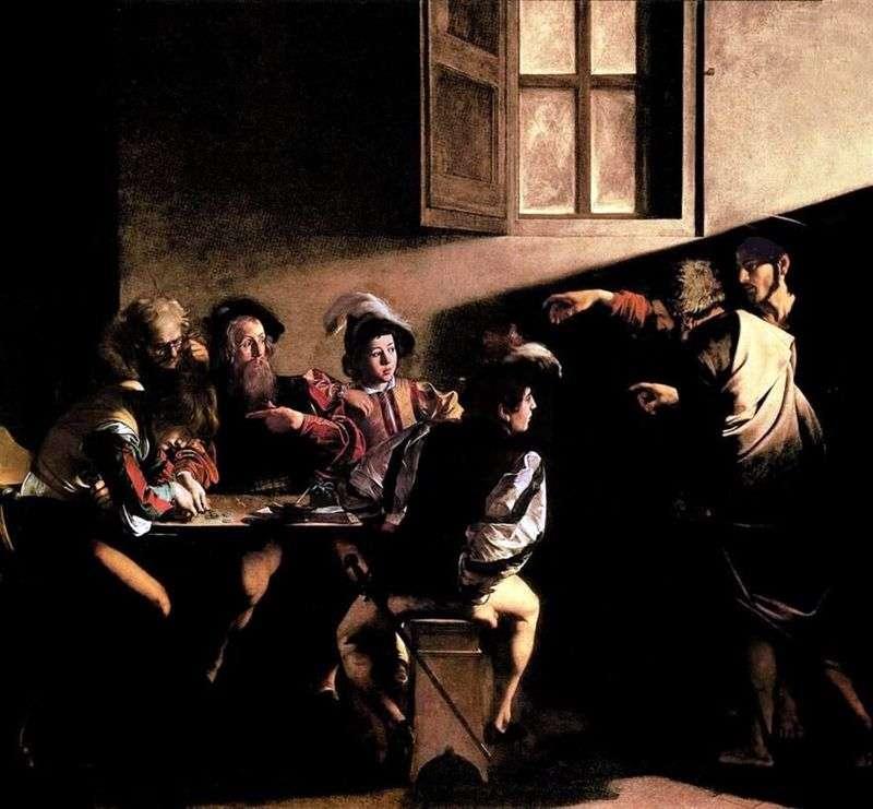 Powołanie Apostoła Mateusza   Michelangelo Merisi da Caravaggio