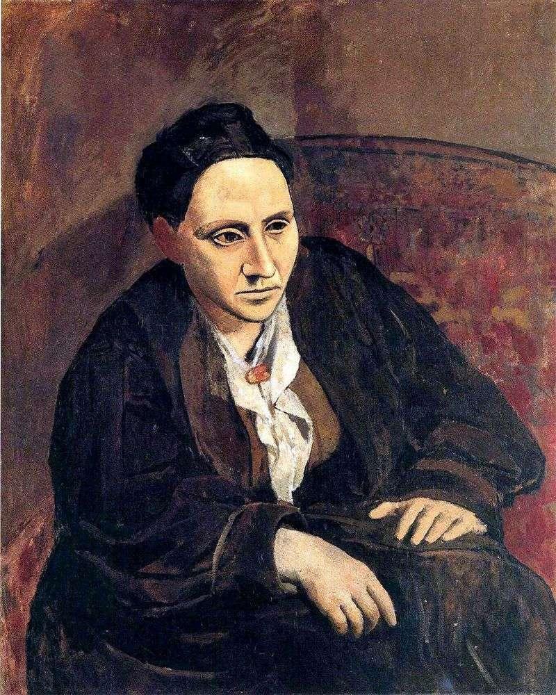 Gertrude Stein   Pablo Picasso