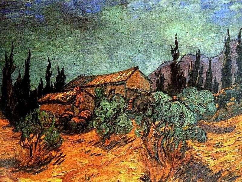Drewniane szopy   Vincent Van Gogh