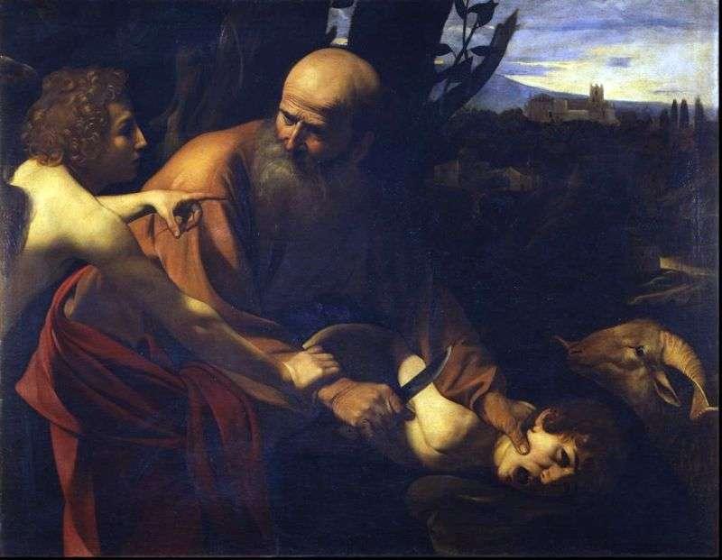 Ofiara Izaaka   Michelangelo Merisi da Caravaggio