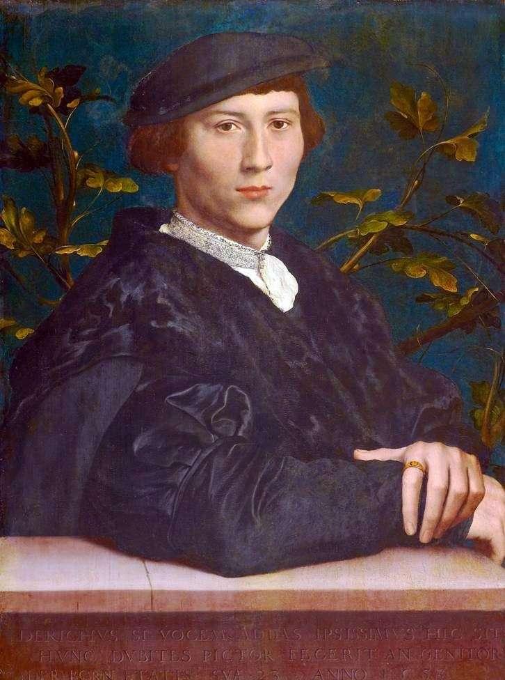 Portret Derika Born   Hansa Holbeina
