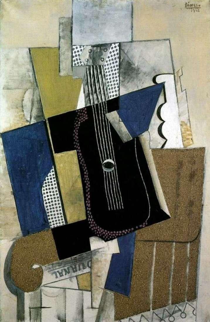 Gitara i gazeta   Pablo Picasso
