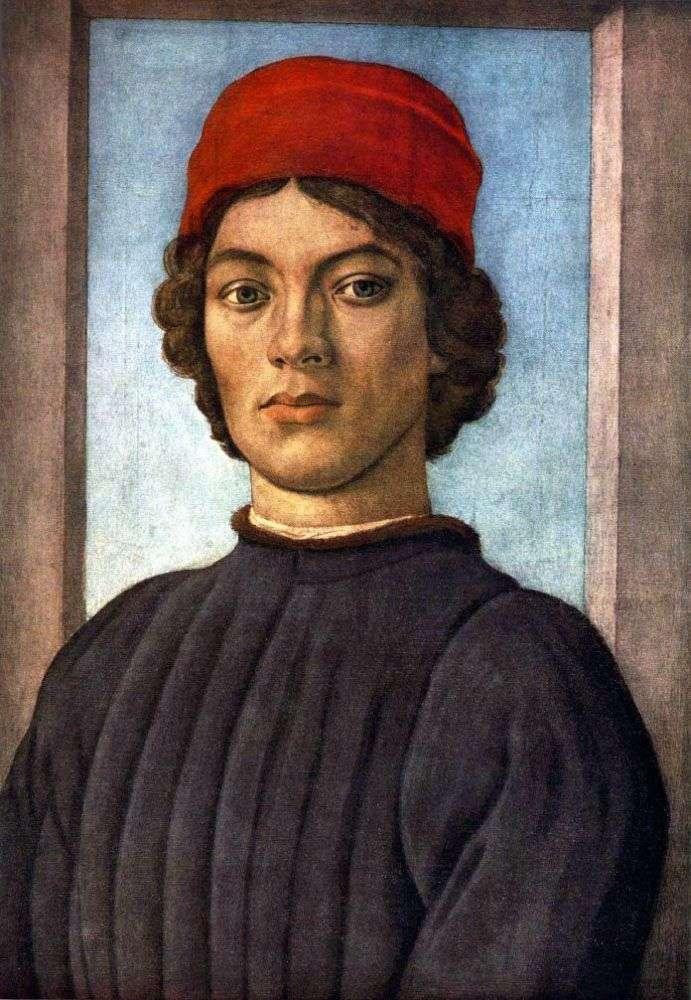 Portret młodego mężczyzny   Filippino Lippi