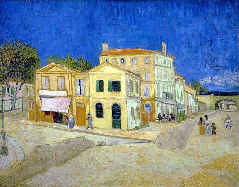 Dom Vincenta w Arles (Yellow House)   Vincent Van Gogh