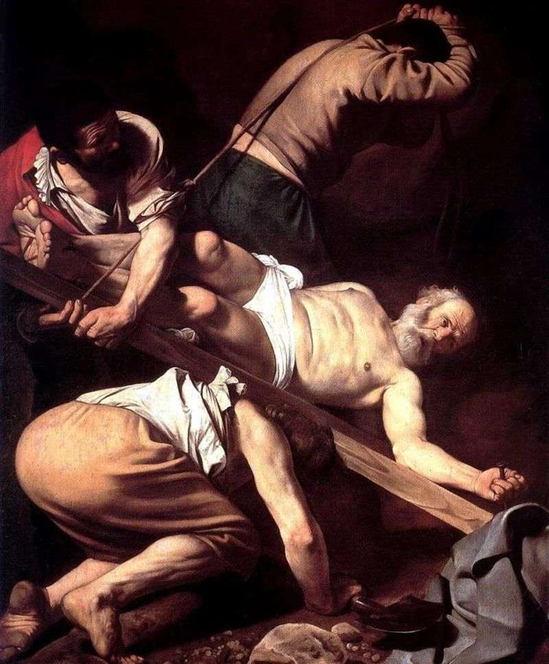 Ukrzyżowanie Świętego Piotra   Michelangelo Merisi da Caravaggio