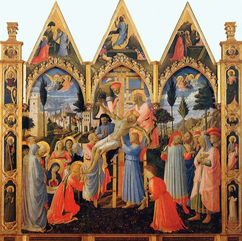 Zejście z krzyża   Angelico Fra
