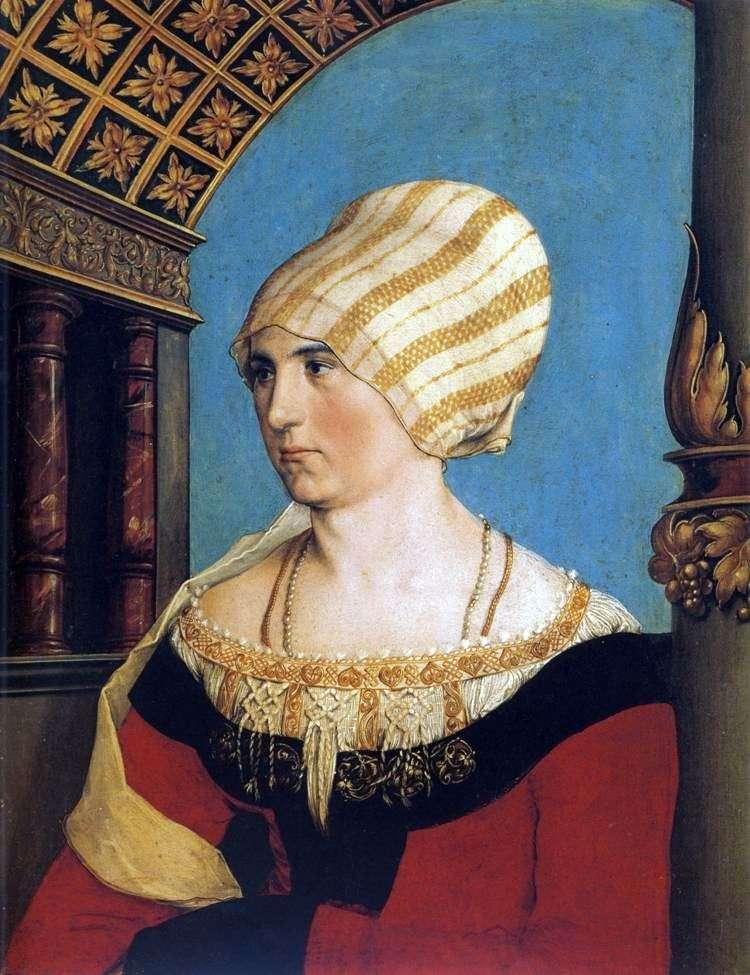 Portret Dorothei Kannengisser   Hans Holbein