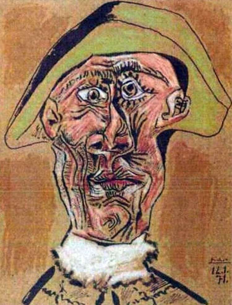 Szef Arlekina   Pablo Picasso