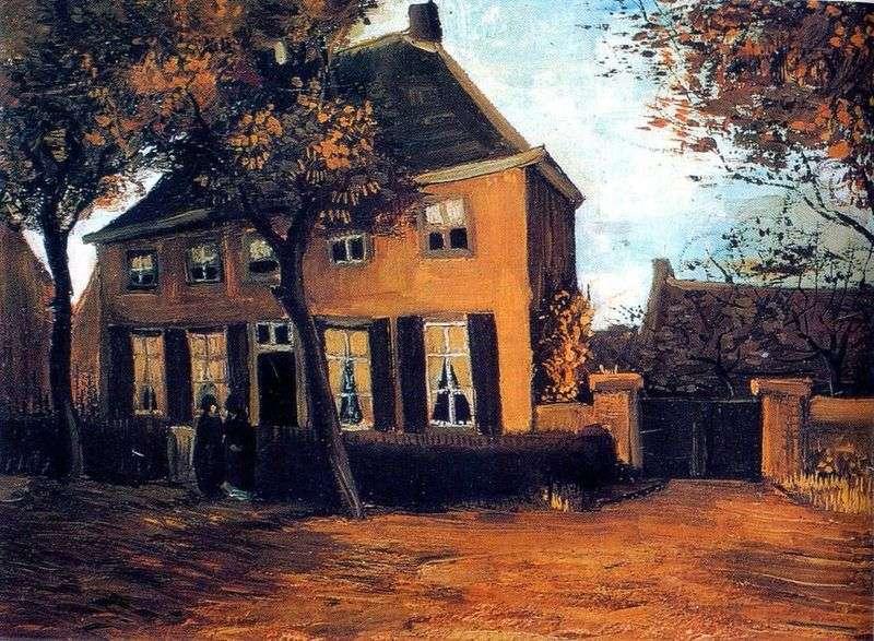 Dom parafialny w Nuenen   Vincent Van Gogh