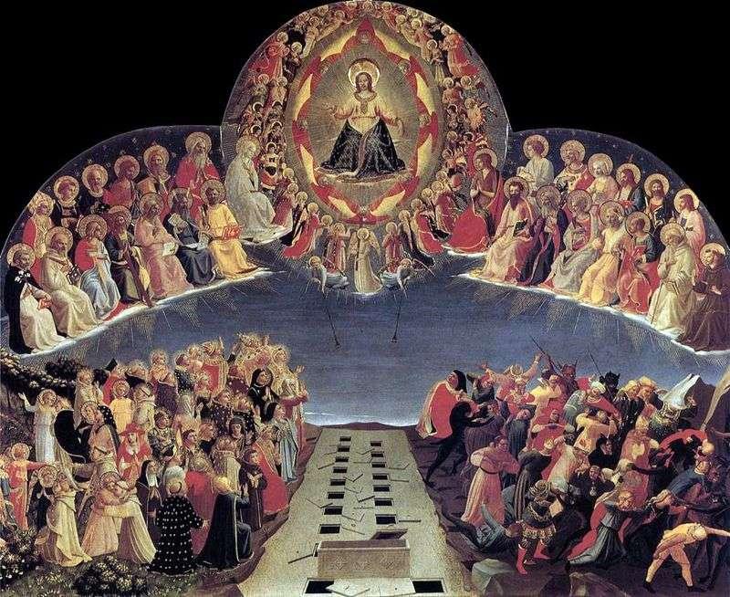 Sąd Ostateczny   Angelico Fra