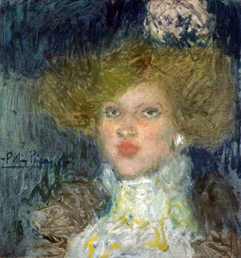 Głowa kobiety   Pablo Picasso