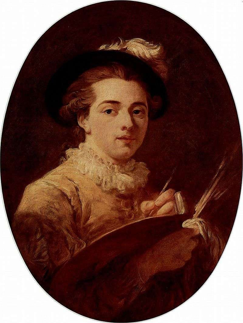 Autoportret   Jean Honore Fragonard
