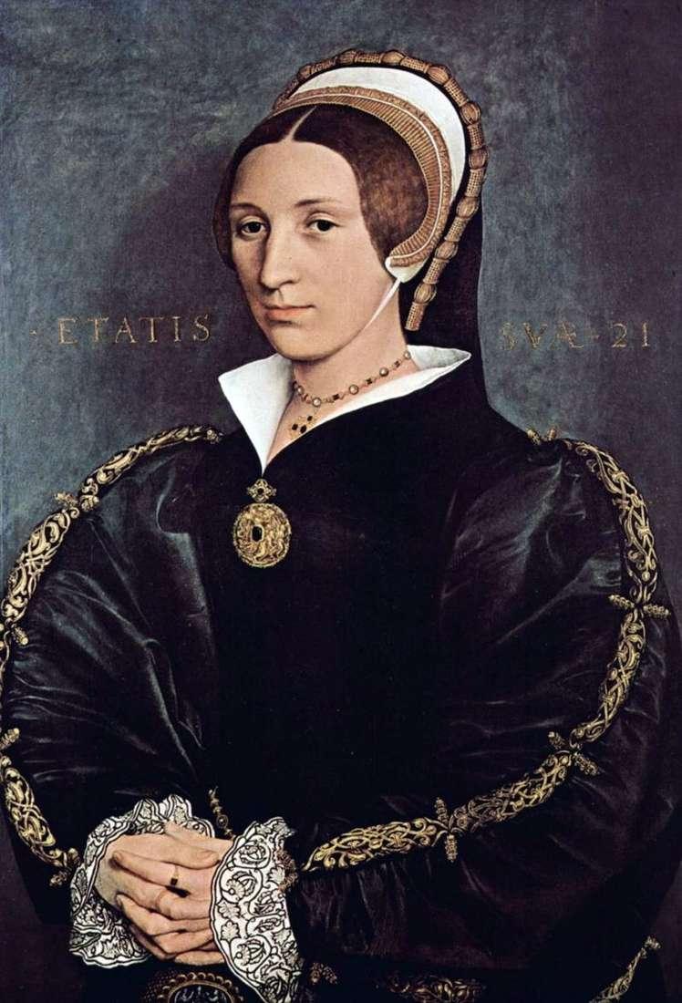 Portret Kathariny Howard, piątej żony króla Henryka VIII   Hansa Holbeina