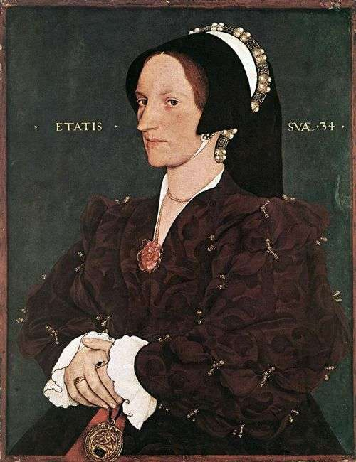 Portret Margarity White Lady Lee   Hans Holbein