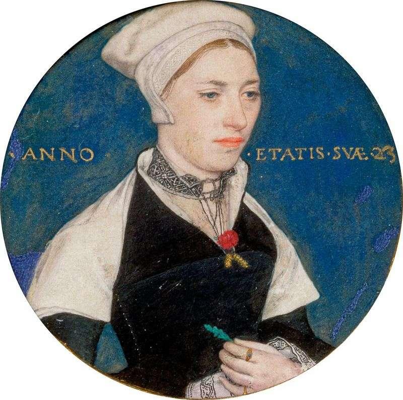 Portret pani Pemberton   Hans Holbein