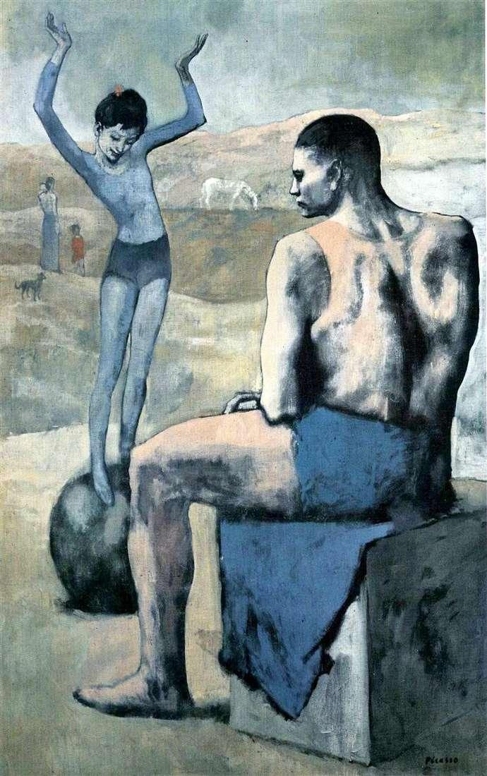 Dziewczyna na balu   Pablo Picasso