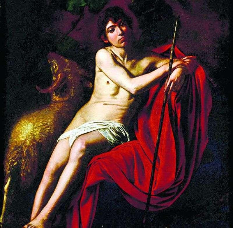Święty Jan Chrzciciel   Michelangelo Merisi da Caravaggio