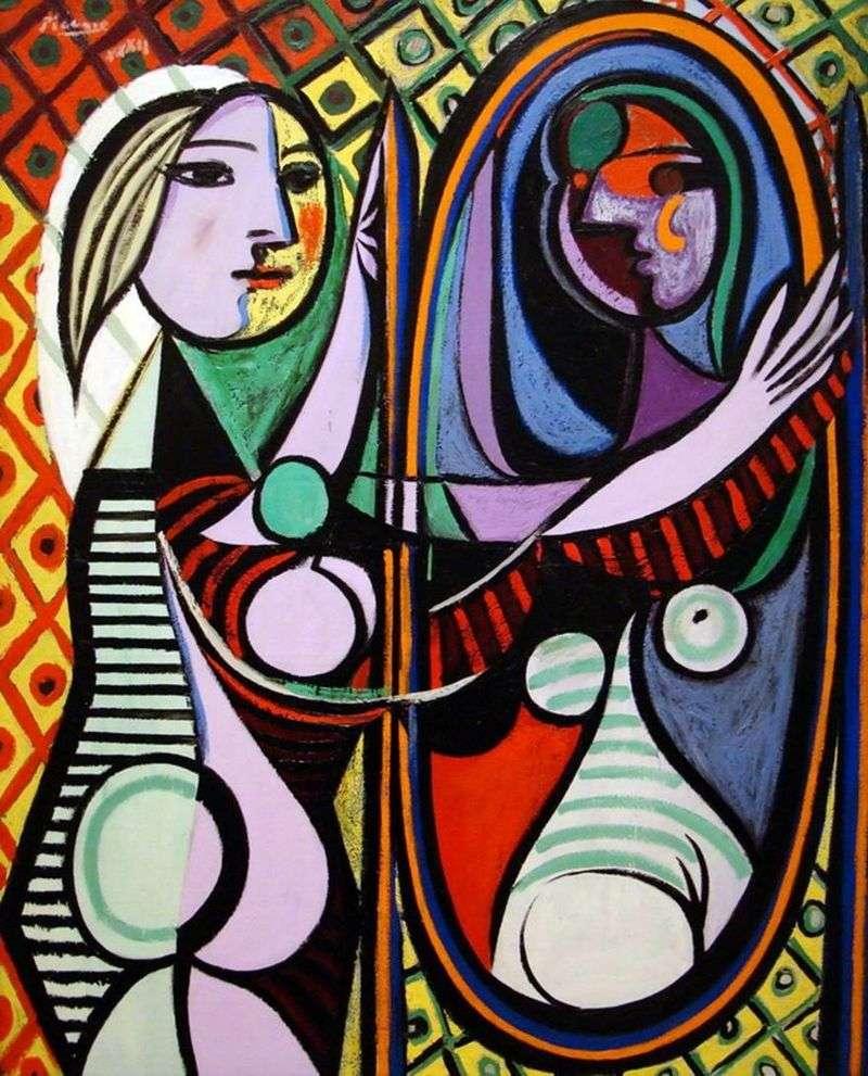 Dziewczyna przed lustrem   Pablo Picasso