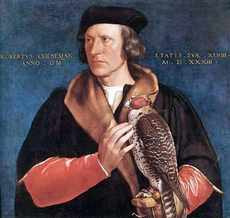 Portret Roberta Cheesemana   Hansa Holbeina