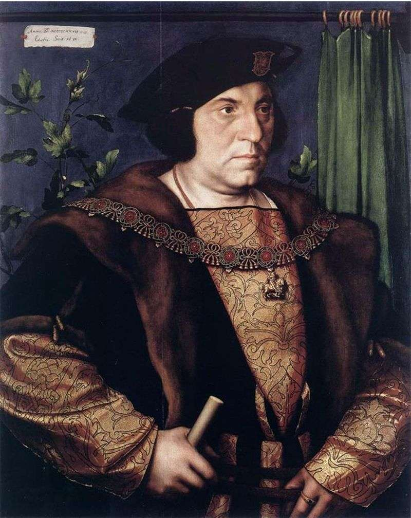 Portret Sir Henryego Guildforda   Hansa Holbeina