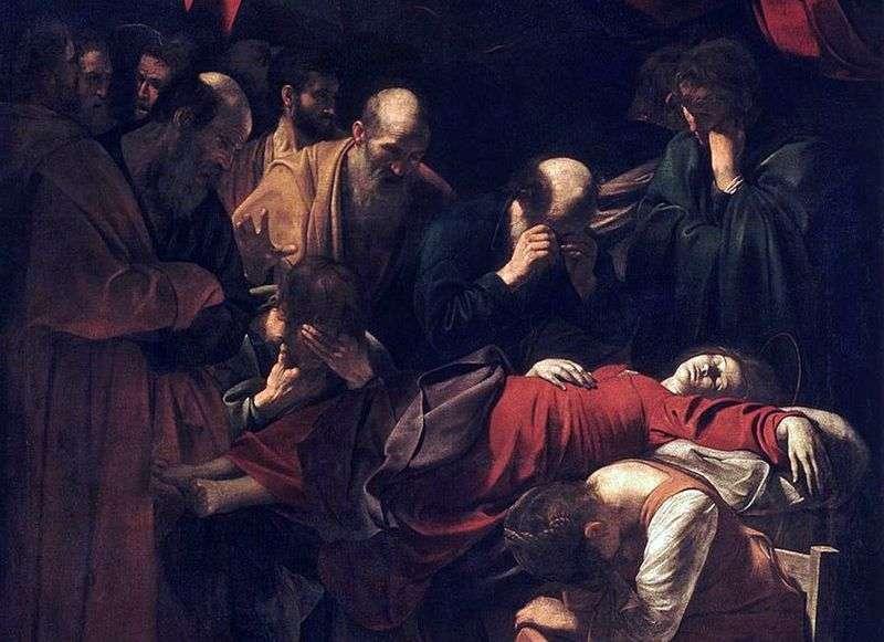Śmierć Maryi   Michelangelo Merisi da Caravaggio