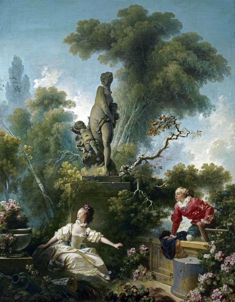 Spotkanie   Jean Honore Fragonard