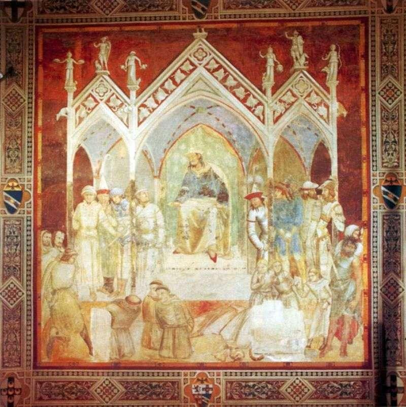 Męczeństwo franciszkanów w Ceucie   Pietro Lorenzetti