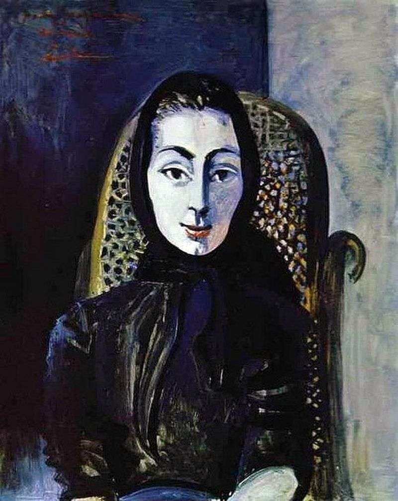 Jacqueline Rock   Pablo Picasso