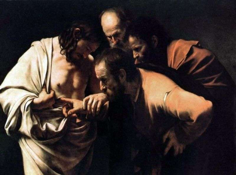 Wątpi Thomas   Michelangelo Merisi da Caravaggio