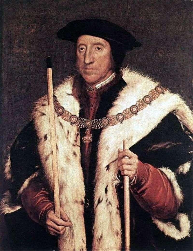 Portret Thomasa Howarda, księcia Norfolk   Hansa Holbeina