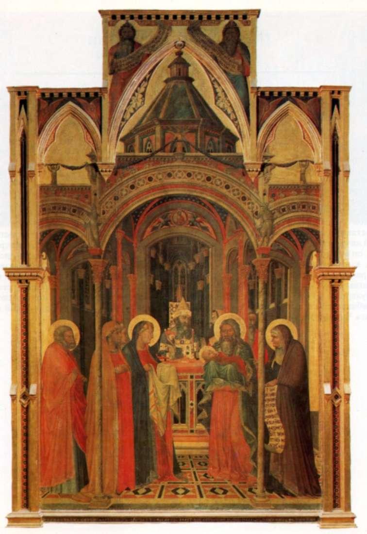 Matki Boskiej Gromnicznej   Pietro Lorenzetti