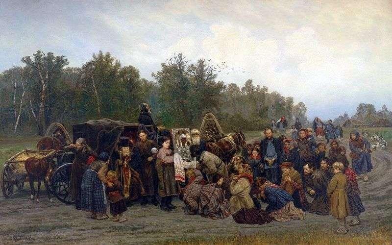 Spotkanie z ikoną   Konstantin Savitsky