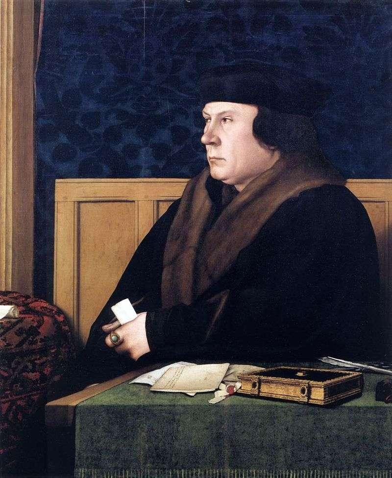 Portret Thomasa Cromwella   Hansa Holbeina