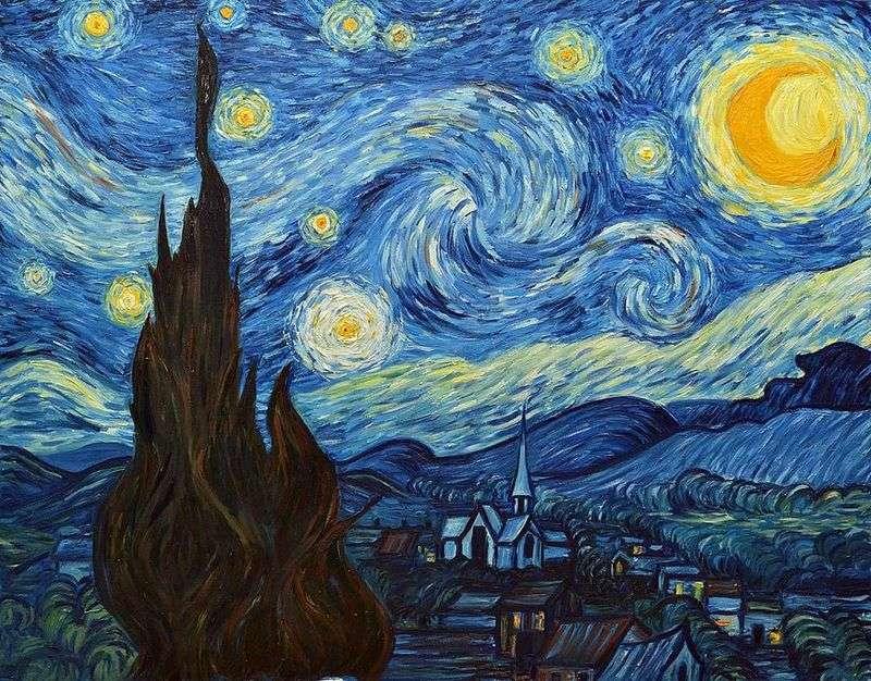 Gwiaździsta noc   Vincent Van Gogh