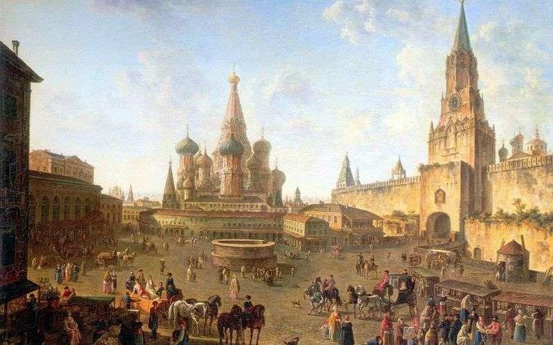 Plac Czerwony w Moskwie   Fiodor Aleksiejew