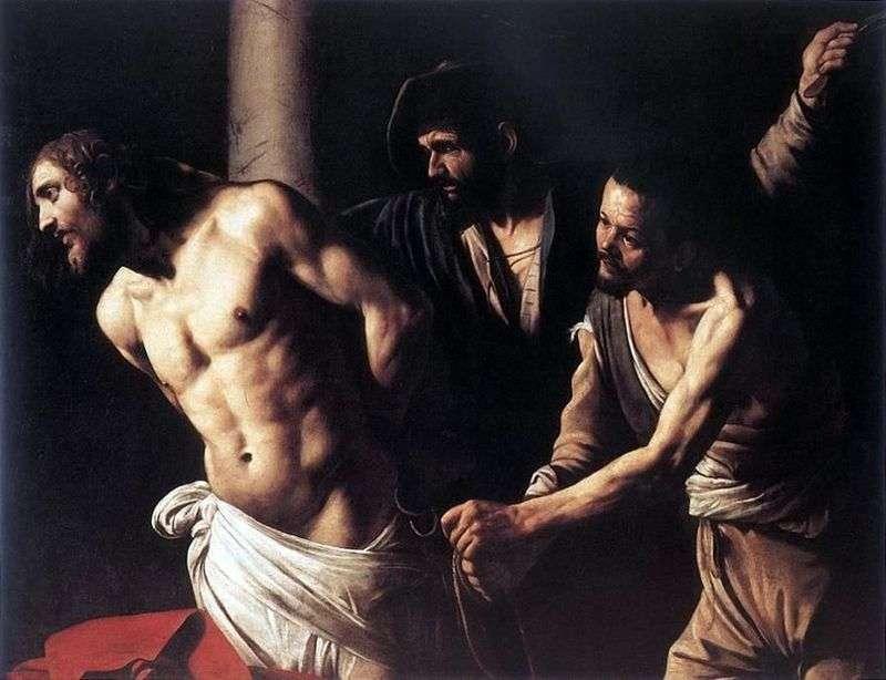 Chrystus w kolumnie   Michelangelo Merisi da Caravaggio