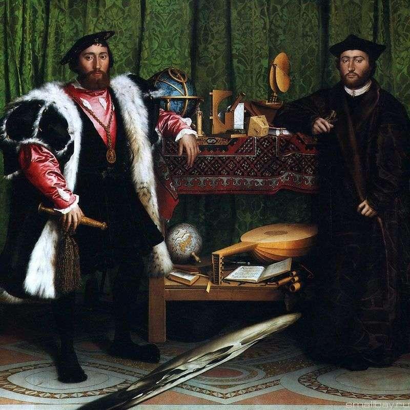Portret francuskich ambasadorów   Hansa Holbeina