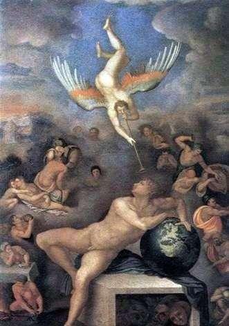 Alegoria ludzkiego życia   Alessandro Allori